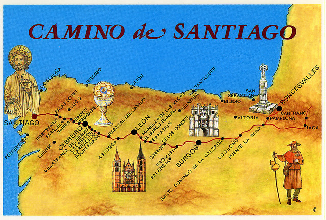 the history of the el camino santiago pilgrimage in spain The pilgrimage to santiago de compostela the history of the pilgrimage to santiago de compostela stretches back more than 1000 years to the discovery of the body of st james during the reign of king alfonso ii (792-842.