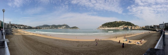 The Coastal Route passes through the lovely Basque resort town of Donostia or San Sebastián.