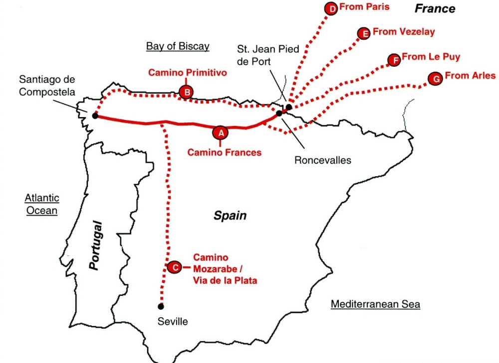 Planning Part 2: Camino Routes (1/3)