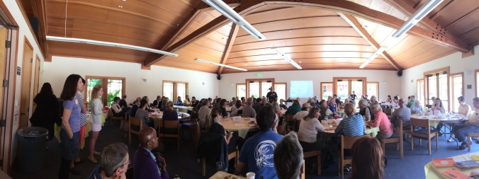 After lunch, there were presentations and Q & A's about the Camino