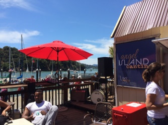 Angel Island Cantina has live music on weekends