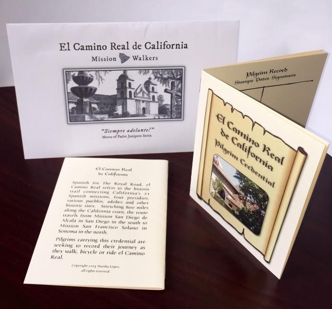 El Camino Real Pilgrim Credentials