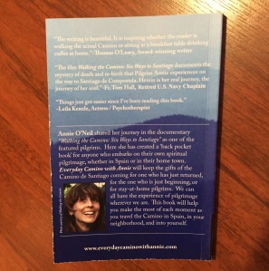 Everyday Camino with Annie, back cover