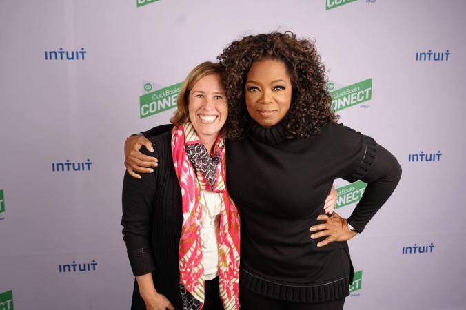 Oprah and Heather