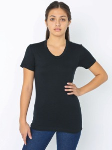 American Apparel BB301 Poly-Cotton Short Sleeve Women's T