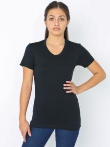 American Apparel BB301 Poly-Cotton Short Sleeve Women's T