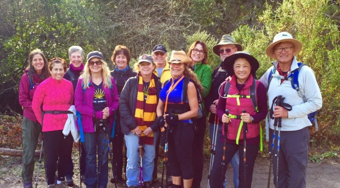 NorCal group at Redwood Hike 12.12.15
