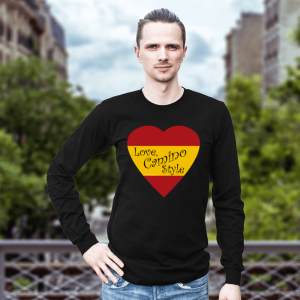 Love, Camino Style black long sleeve unisex shirt