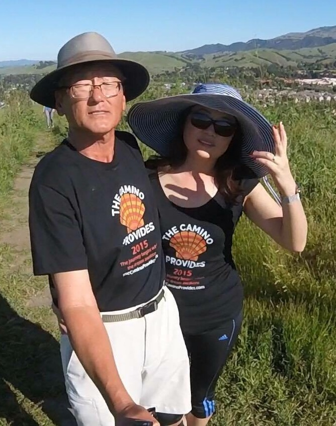 Francis and Anna are regulars at Bay Area Camino events and hikes.