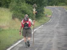 Pilgrim on the Camino