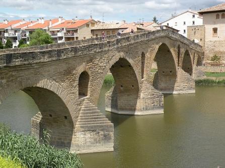Puente la Reina (The Queen's bridge) in 2010