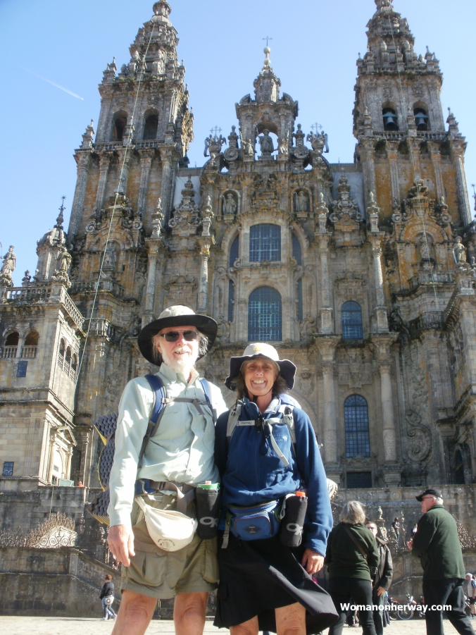 Jane and Dennis in Santiago
