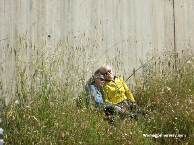 Taking a break on the Camino