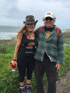 Cathy and Dave are one of the Camino Couples featured in the Love page.