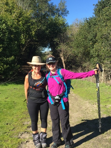 I tested my backpack, trekking poles, boots and jacket. All trail approved for the Camino!