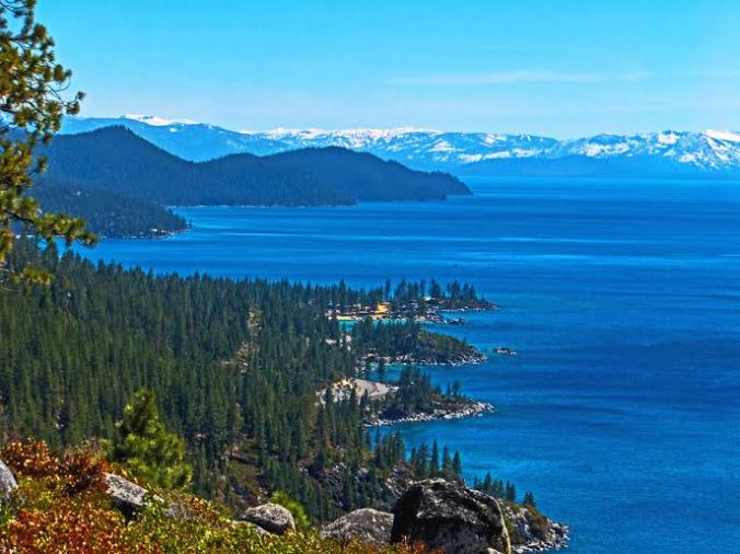 Bella Tahoe from the Flume trail. Photo courtesy of Dave Jennings.