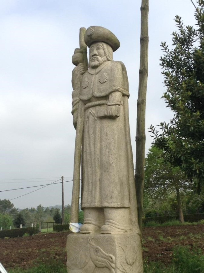 The 6 m-metre statue of St.aint James