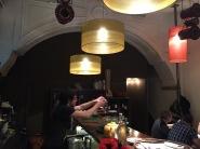 Swanky restaurant in the oldest part of Lisbon