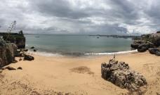 I had this beach to myself