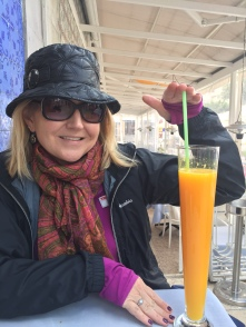World's tallest fresh squeezed OJ