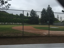 My nephew played baseball here.