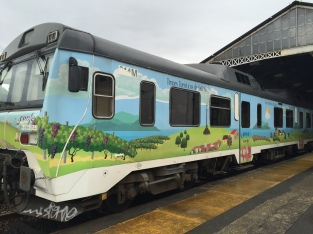 Single car Galicia Tourist Train