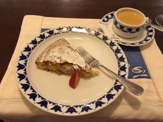 Tarta de Santiago.