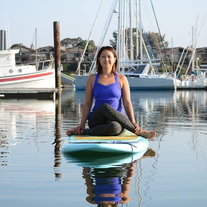 Nicolette Tura, an amazing Yogi that teaches at UC Berkeley and on the San Francisco Bay!