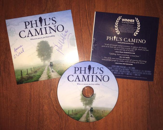 Phil's Camino DVD