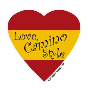 Love, Camino Style sticker
