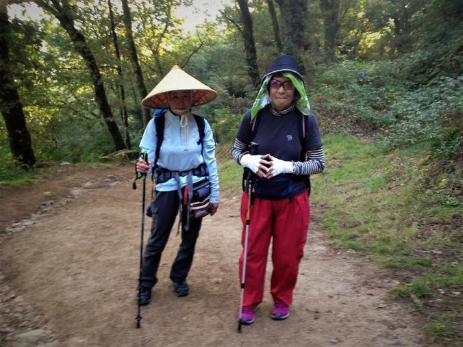 Asian Pilgrims on the Camino