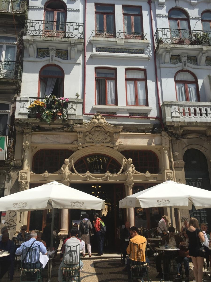Porto Memories: J. K. Rowling Hangouts, Majestic Café and Livrario Lello