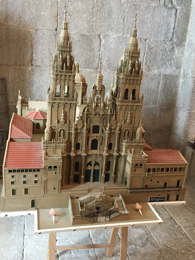 Model of the cathedral