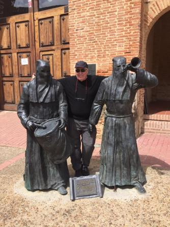 David in Sahagun with his Pilgrim buddies.