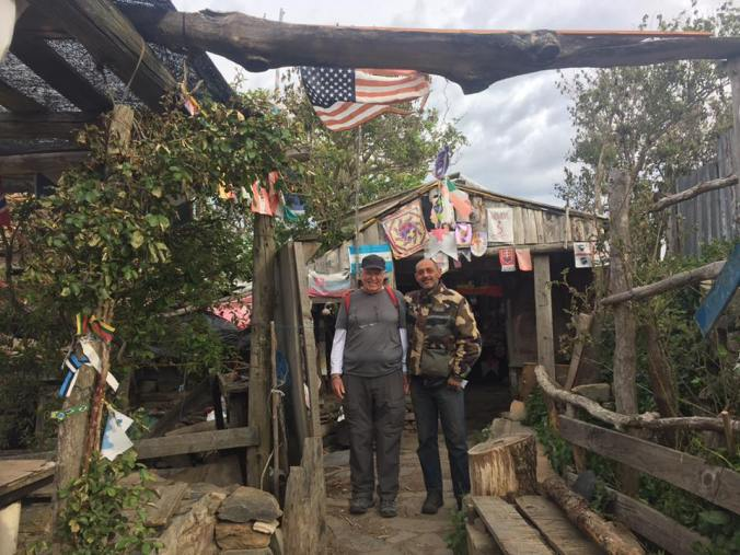 Cathy Seitchik Diaz 17 hrs · David at Refugio Manjaren with Jose