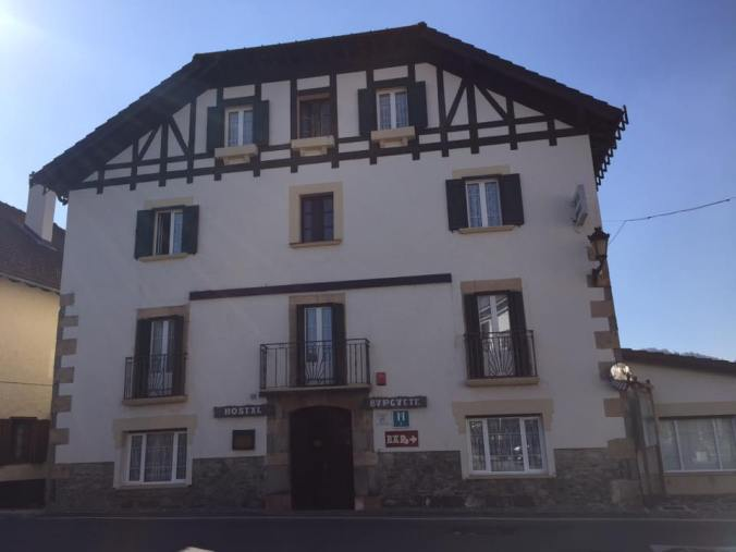 Hostel Burguete, where Hemingway spent his vacations.