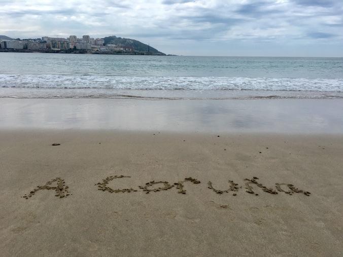 A Coruna beach