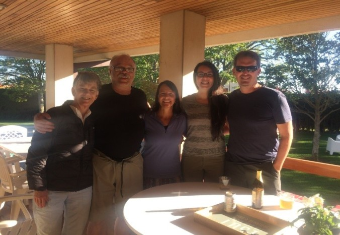 Me, Tim, Karen, Cindy, and Mike