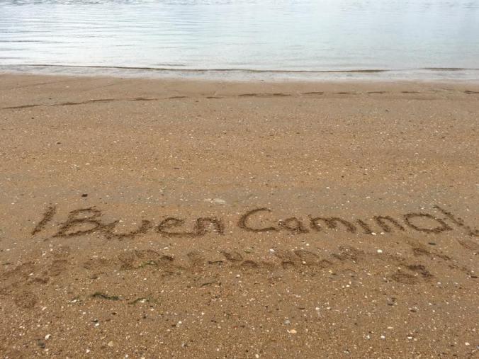 Buen Camino Ferrol Beach