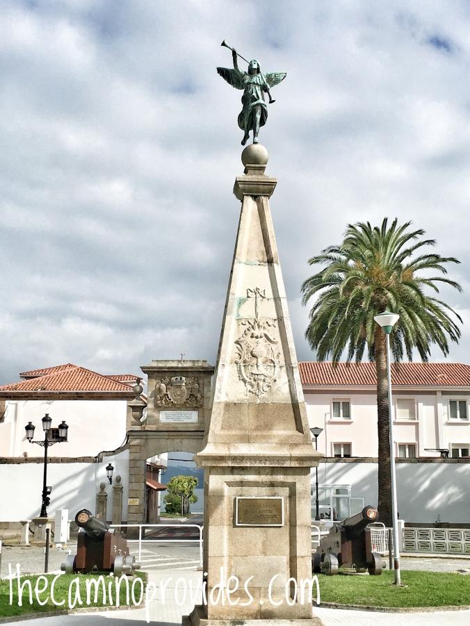 Angel in Ferrol
