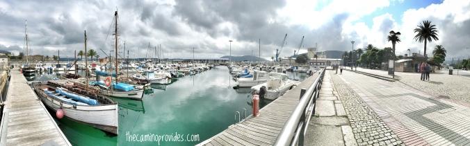 Ferrol Harbor panoramic