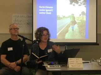 Jason & Susi Jensen presenting the Camino del Norte