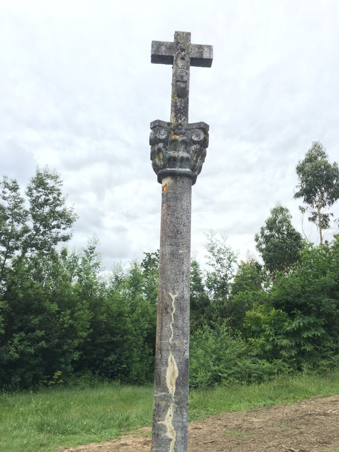 A stone Cruceiro