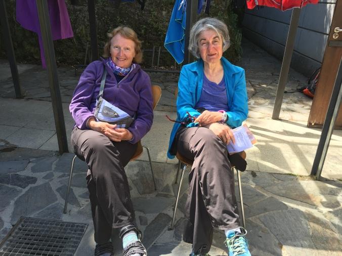 Lynn Talbot and Annie