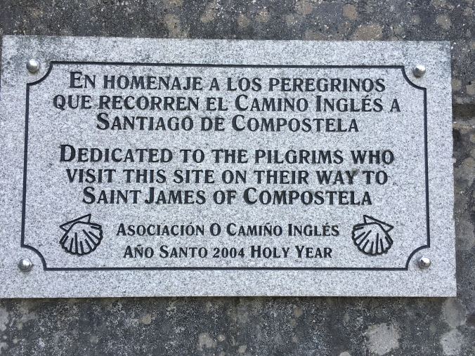 I saw a plaque like this at the church in Neda too.