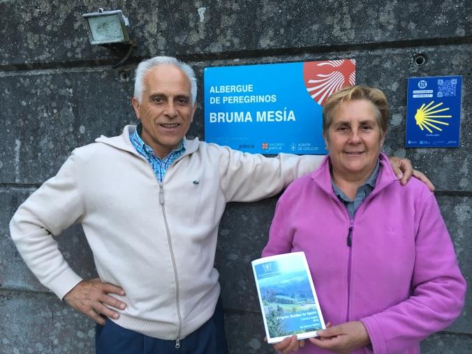 Hospitaleros husband and wife team