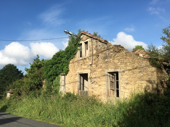 A dilapidated home