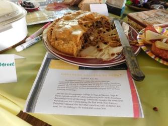 Someone made the Empanada recipe from Yosmar's Tastes of the Camino cookbook!