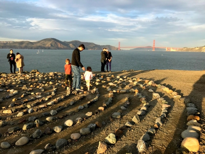 Lands End Labyrinth, San Francisco. Photo by Stephanie Dodaro.