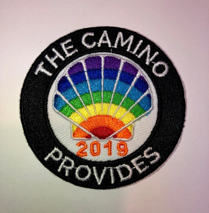 The Camino Provides 2019 Patch